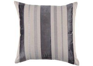 Ashok Natural/Charcoal Pillow,Signature Design by Ashley
