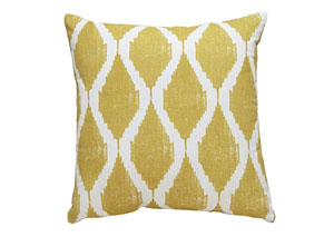 Bruce Yellow Pillow,Signature Design by Ashley