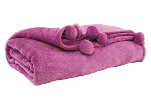 Aniol Lavender Throw