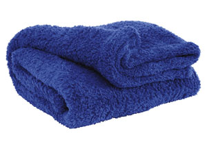 Brodie Blue Throw
