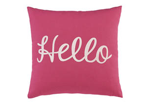Shapeleigh Pink Pillow