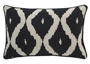 Tildy Black/Natural Pillow,Signature Design by Ashley