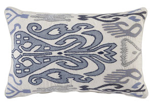 Orono Blue 22'' x 14'' Pillow
