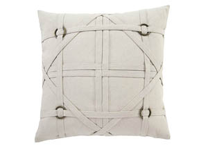 Leonard Linen 20'' x 20'' Pillow Cover