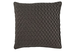 Orrington Brown 22'' x 22'' Pillow Cover