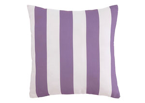 Hutto White/Lavender Pillow