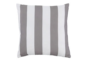 Hutto Gray/White Pillow