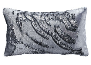 Priscella Silver Pillow,Signature Design by Ashley
