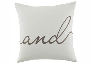 And White Pillow,Signature Design by Ashley