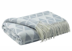 Noemi Blue Throw