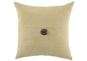 Ferriday Light Yellow Pillow