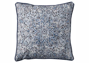 Mariah Blue Pillow