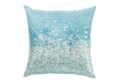 Meilani Blue Pillow (Set of 4)