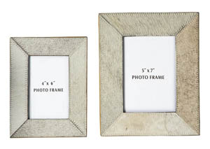 Odeda Beige Photo Frame
