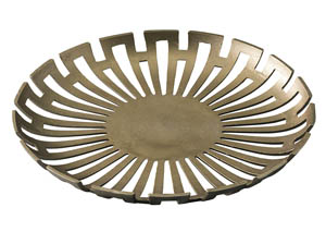 Coline Gold Finish Tray