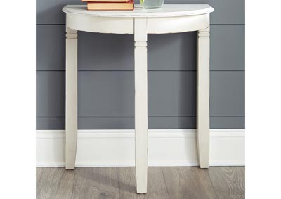 Birchatta White Console Table