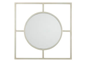 Druce Champagne Accent Mirror,Signature Design by Ashley