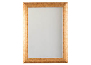 Dulce Gold Finish Accent Mirror