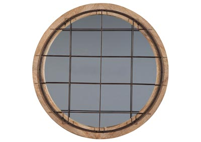 Bailee Antique Gold Finish Accent Mirror