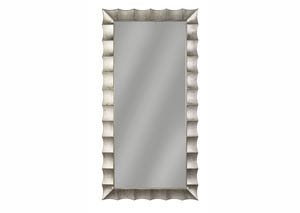 Laasya Antique Silver Finish Accent Mirror