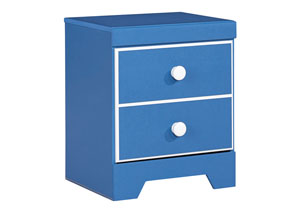 Bronilly One Drawer Nightstand