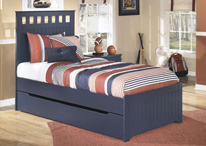 Leo Twin Panel Storage Bed
