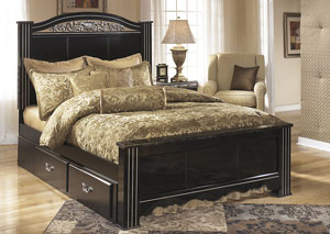Constellations King Poster Bed,Signature Design By Ashley