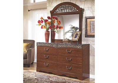 Fairbrooks Estate Dresser & Mirror