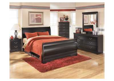 Huey Vineyard King Sleigh Bed,Signature Design By Ashley