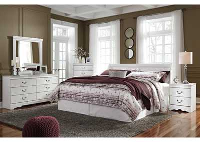 Anarasia White Bedroom Mirror,Signature Design By Ashley
