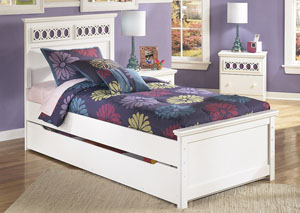Zayley Twin Panel Storage Bed