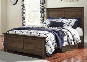 Burminson Brown Queen Panel Bed,Signature Design by Ashley