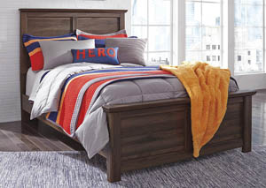 Burminson Brown Full Panel Bed,Signature Design by Ashley