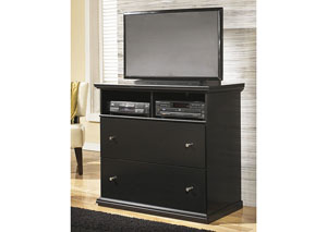 Maribel Black Media Chest