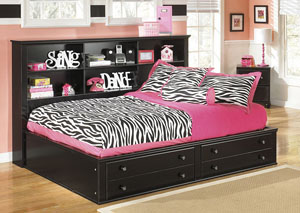 Jaidyn Full Bookcase Bed