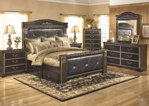 Coal Creek King Mansion Storage Bed,Signature Design By Ashley