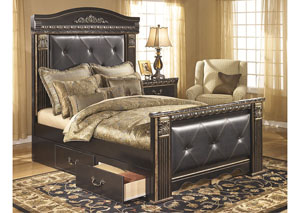Coal Creek Queen Mansion Storage Bed,Signature Design By Ashley