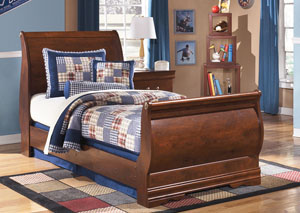 Wilmington Twin Sleigh Bed,Signature Design by Ashley