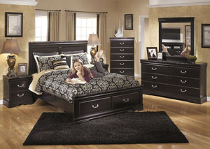Esmarelda Queen Storage Bed,Signature Design By Ashley