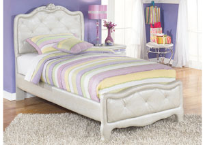 Zarollina Twin Upholstered Bed
