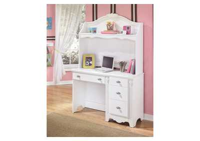 Exquisite Bedroom Desk & Hutch