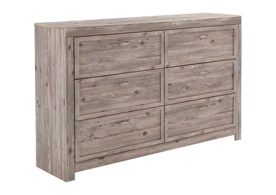 Willabry Weathered Beige Dresser