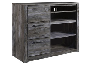 Baystorm Gray Media Chest,Signature Design By Ashley