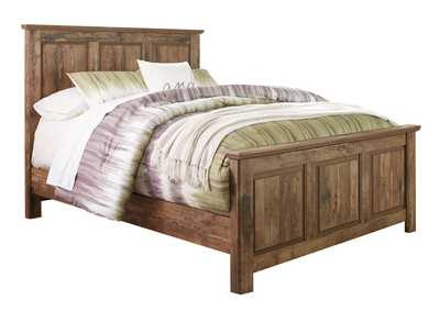 Blaneville Brown Queen Panel Bed
