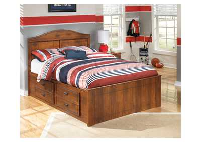 Barchan Full Panel Storage Bed