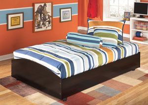 Embrace Twin Loft Caster Bed