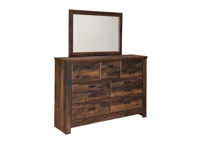 Quinden Dresser & Mirror,Signature Design by Ashley
