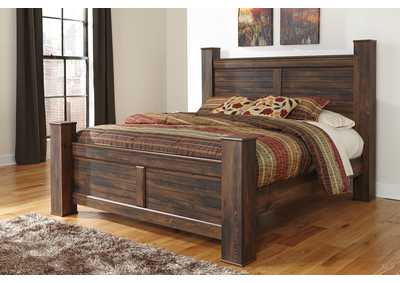 Quinden King Poster Bed