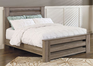 Zelen King Poster Bed,Signature Design by Ashley