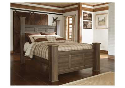 Juararo California King Poster Bed,Signature Design By Ashley